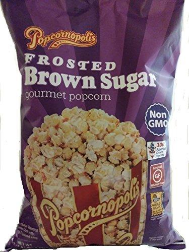 Popcornopolis Frosted Brown Sugar Gourmet Popcorn - 1.4 lbs bag
