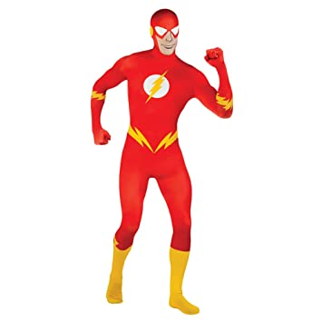 Disfraz M de flash 2nd Skin traje de superhéroe héroes de ...