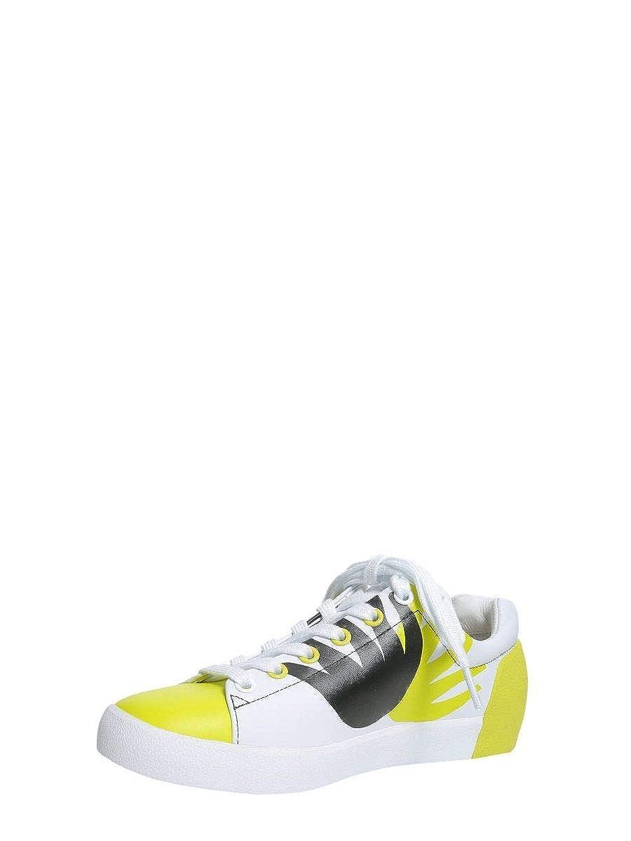 ASH X FILIP PAGOWSKI scarpe da ginnastica Donna NICKYFLAMEgiallo NICKYFLAMEgiallo NICKYFLAMEgiallo Pelle Bianco af38c7
