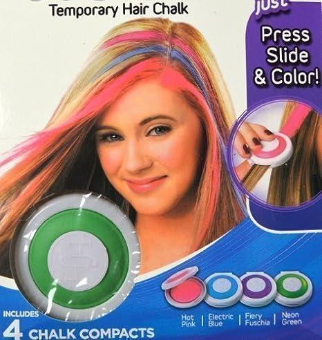 Aparato Para hacer mechas 4 colores en set rojo, azul, verde y lila: Amazon.es: Juguetes y juegos