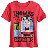 Jumping Beans Toddler Boys 2T-5T Thomas & Friends Graphic Tee 4T Red Heather