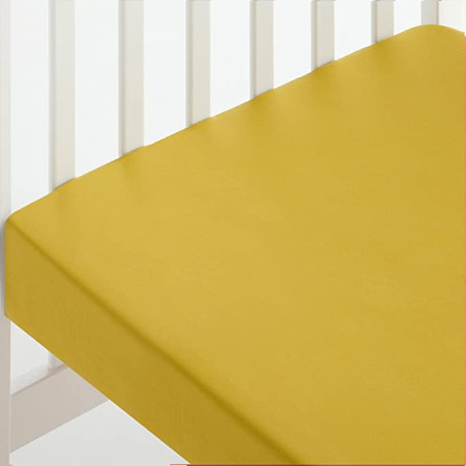 Sábana Bajera CUNA 60x120 Ajustable 100% Algodón - Color VERDE ...