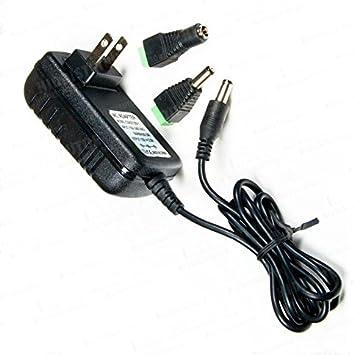 AC 100-240V to 12V DC Power Supply Adapter For 3528 5050 SMD LED RGB Strip light