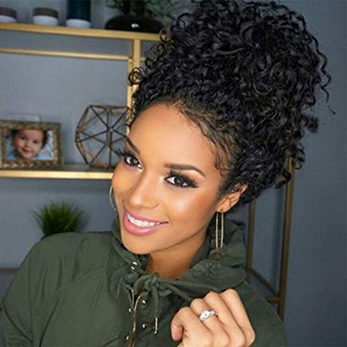 Wowsexy Hair Brazilian Virgin Hair Remy Wigs Curly Lace Front Wigs Human Hair with Baby Hair for Black Women African Americans Wigs Pre Plucked Hairline by Wowsexy Hair
