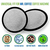 Replacement Activated Charcoal Water Filters for Mr. Coffee...