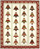 Tree Lot Quilt Pattern, Jelly Roll 2.5'' Strip Set Friendly, 5 Sizes Options Including Table Runner