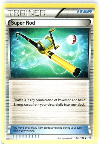 Pokemon - Super Rod (149/162) - XY BREAKthrough