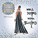 Shades of Color 2019 Girlfriends, A Sister's Sentiments African American Calendar by Cidne Wallace, 12 x 12 inches (19GF)