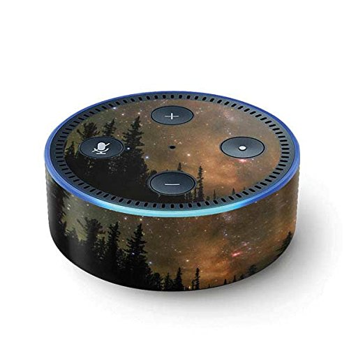 Nature Echo Dot (2nd Gen, 2016) Skin - Milky Way Starry Night Vinyl Decal Skin For Your Echo Dot (2nd Gen, 2016) (Dots Milky)