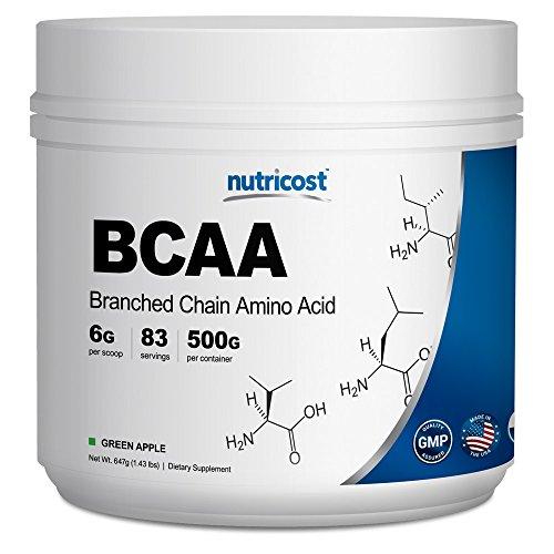 Nutricost BCAA Powder- 2:1:1 &...
