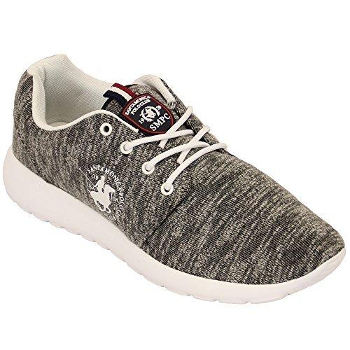 Zapatillas Hombre Santa Monica Polo Club Zapatos EUA Cordones ...