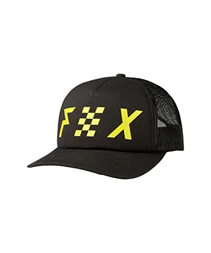 Amazon.com  Fox Racing Women s Avowed Trucker Hat (BLACK)  Automotive 4d543b7b11e