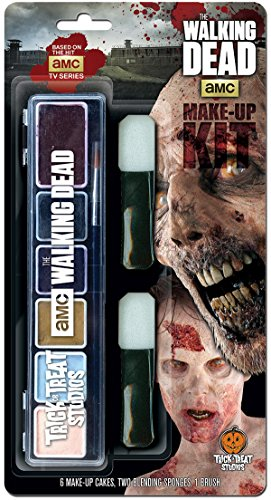 The Walking Dead Walker Halloween Make Up Kit]()