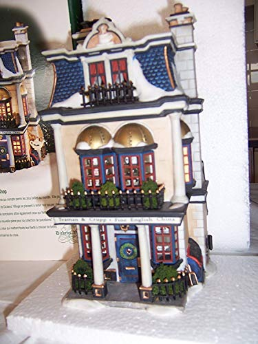 Department 56 Teasman and Crupp and China Shop