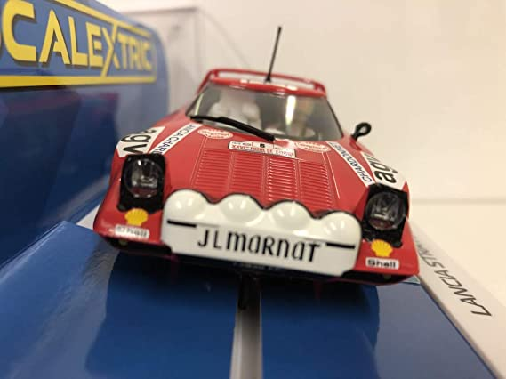 Scalextric C3930 Lancia Stratos TDC Rally 1975 No. 6 Bernard Daniche: Amazon.es: Juguetes y juegos