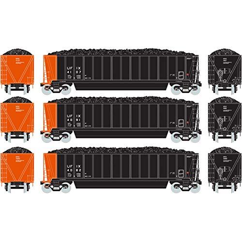 - Athearn HO RTR Bathtub Gondola w Coal Load UFIX #3 (3)