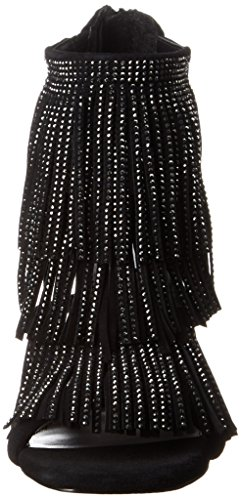 Steve Madden Fringly-r - Sandalias de tacón Mujer Black Multi
