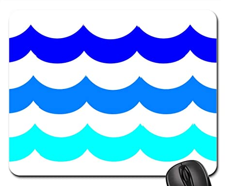 Amazon.com: Mouse Pads - Water Waves Swimming Pool Ocean Sea ...