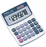 Canon LS-82Z Handheld Calculator - 8 Character(s) - LCD - Solar, Battery Powered - 1.3'' x 3.5''