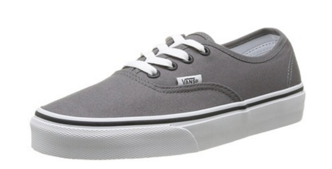 Vans Mens Authentic Trainers Burgundy (11.5 B(M) US Women/10 D(M) US Men, Pewter/Black)