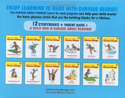 Curious George Curious About Phonics 12-Book Set by HMH Books