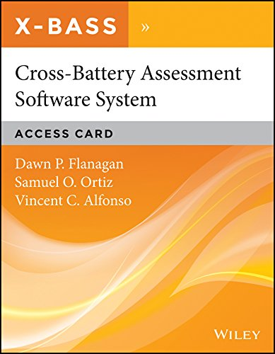 Cross-Battery Assessment Software System (X-BASS) Access Card