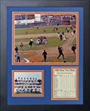 "Legends Never Die ""1969 New York Mets Celebration"" Framed Photo Collage, 11 x 14-Inch"