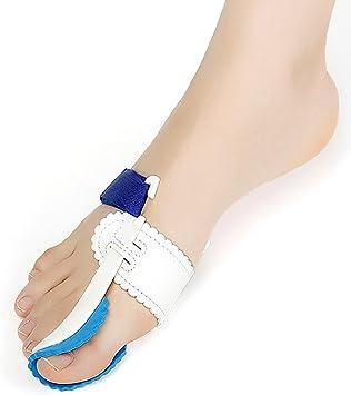 PAWACA Corrector de juanetes, 2pcs ajustable Velcro férula Protector mangas Kit, Toe Separadores Alineación Straightener Splint