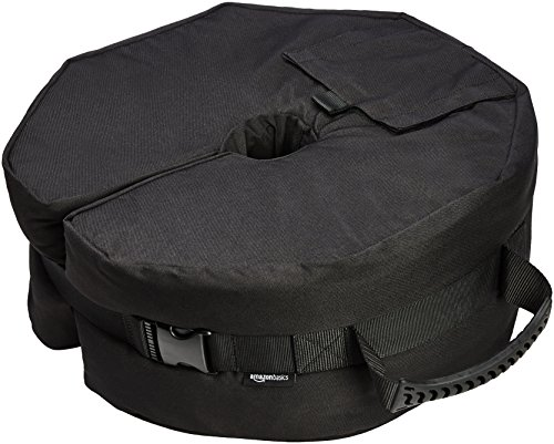 AmazonBasics Umbrella Base Weight Bag, Round