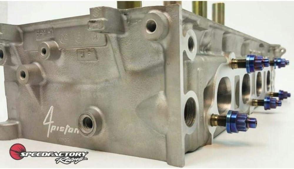 SpeedFactory Titanium Exhaust Manifold BURNT Stud Kit For Toyota MR2 Celica