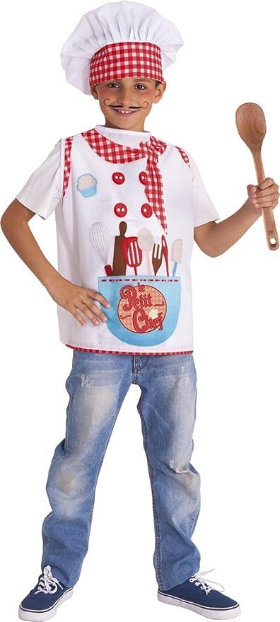 Rubies S8400-T Le Petit Chef - Disfraz impreso para niños, T (1-2 años)