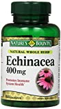 Nature's Bounty Echinacea 400 Mg, 100 Capsules