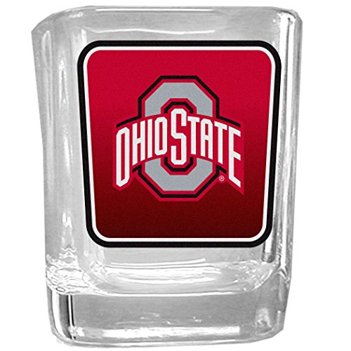 (NCAA Ohio State Buckeyes Square Glass Shot Glass)