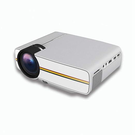 FengHeHaiLang Mini proyector, proyector LED portátil Pocket Pico ...