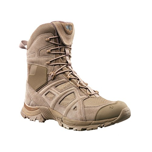 Haix Heren Black Eagle Athletic 11 Hoge Zijrits Textiellaarzen, Desert Tan, 12.5, 320002-12.5