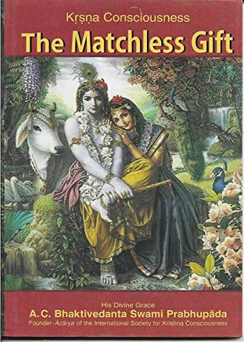Krishna Book Store Devotional Books Krsna Consciousness The Matchless Gift