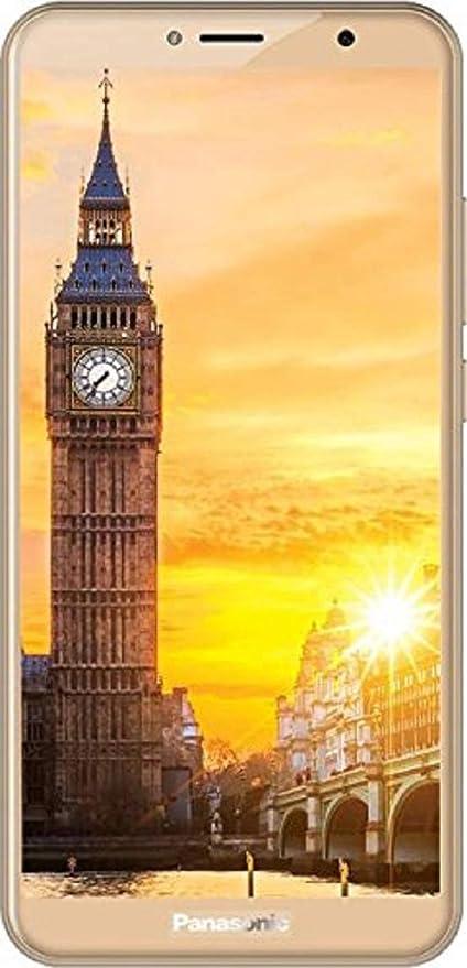 Panasonic Eluga Ray 550 (3GB RAM, Full View Display, Gold) Smartphones at amazon
