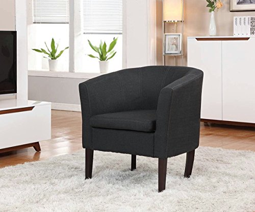 Home Life Armen Linon Black Sofa Arm Club Chairs Linen Finish For Sale