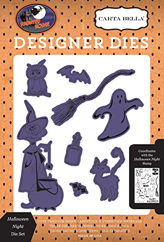 Carta Bella Paper Company CBHH71044 Halloween Night Die Set