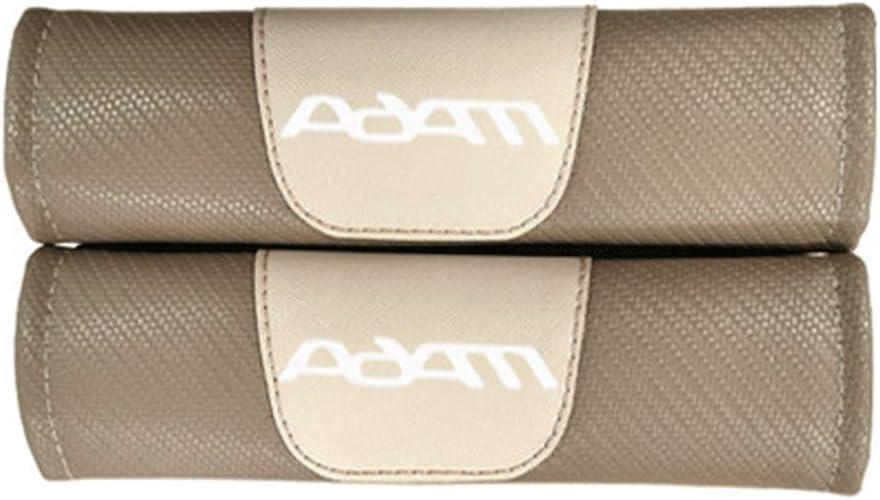 TYMDL 2 St/ück Karbonfaser Auto Sicherheitsgurt Schulter-Pads Gurtpolster f/ür Opel Adam All Models Rennsport Styling Schulter Gurtschutz Abdeckung