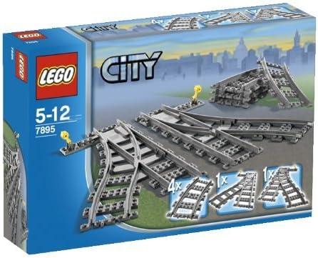 LEGO (LEGO) City point rail 7895