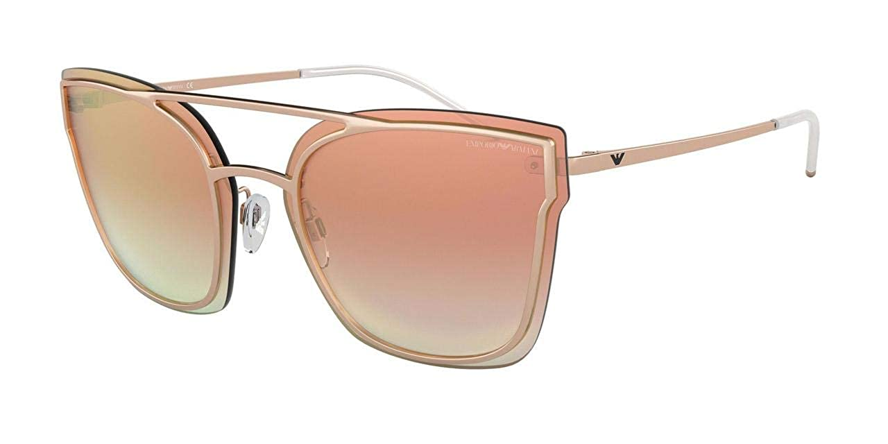 64ff7d081131 Amazon.com  Emporio Armani EA2076 31676F Rose Gold EA2076 Butterfly  Sunglasses Lens Categor  Emporio Armani  Clothing