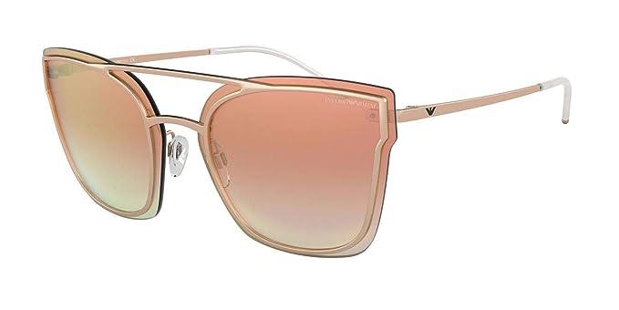 Emporio Armani 0EA2076 Gafas de sol, Rose Gold, 63 para ...