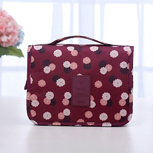 Beauty Swiftswan Bag Travel Waterproof Polyester Bag Type Makeup Hanging Cosmetic xx6qfX