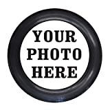 Infusion Custom Photo or Company Logo Ultimate Frisbee Disc - 175g, Black