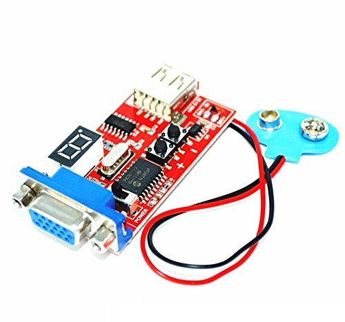 Exiron Signal Output VGA Signal Generator LCD Display Tester DC&USB Power Supply NEW