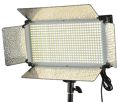 Fancierstudio VL500BI Video Lighting 500 LED Video Light Bi Color Dimmer V Mount Color Changing Lighting Panel by Fancierstudio VL500BI by Fancierstudio