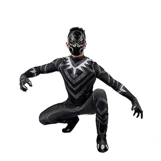 Black Panther NiñO Adulto Ropa Cosplay Halloween Navidad ...