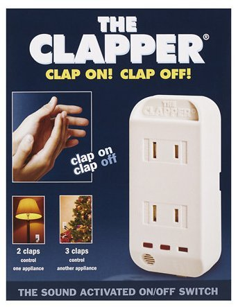 The Clapper Sound Activated On/Off Switch 1.0 ea.pack of 2 ()