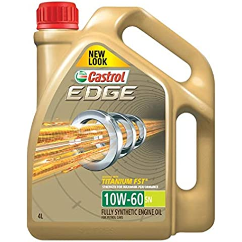 Castrol Engine Oil 10W60 Fully Synthetic 4 Liter Gallon